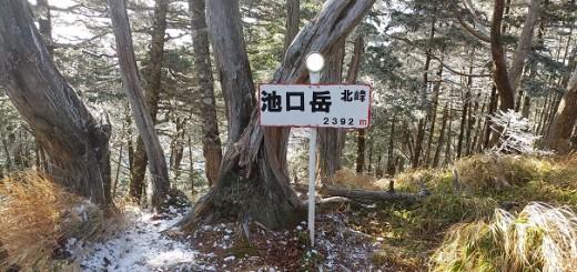 ④池口岳北峰1522